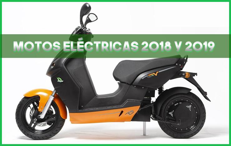 Motos eléctricas 2018 y 2019