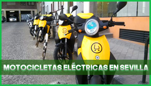 Motocicletas eléctricas en Sevilla