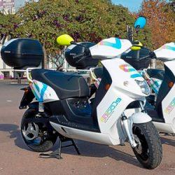 Motocicletas eléctricas en Barcelona