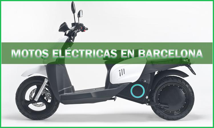 Motos eléctricas en Barcelona